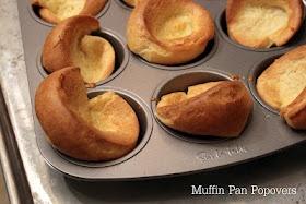 Kasee's Muffin Pan Popovers. Mini German pancakes?