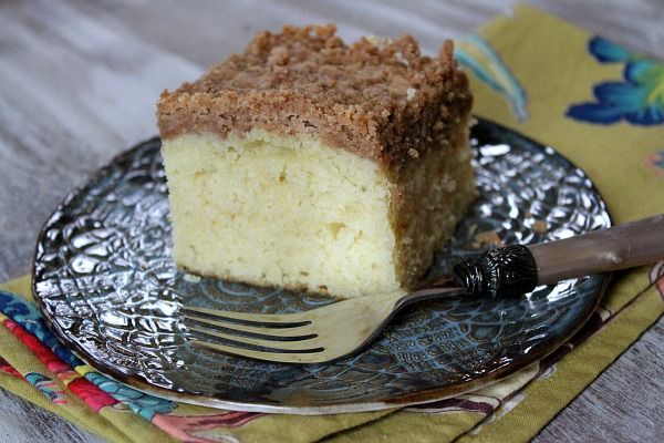 Martha's Classic Crumb Cake. Okay. There's A POUND of butter in here ...