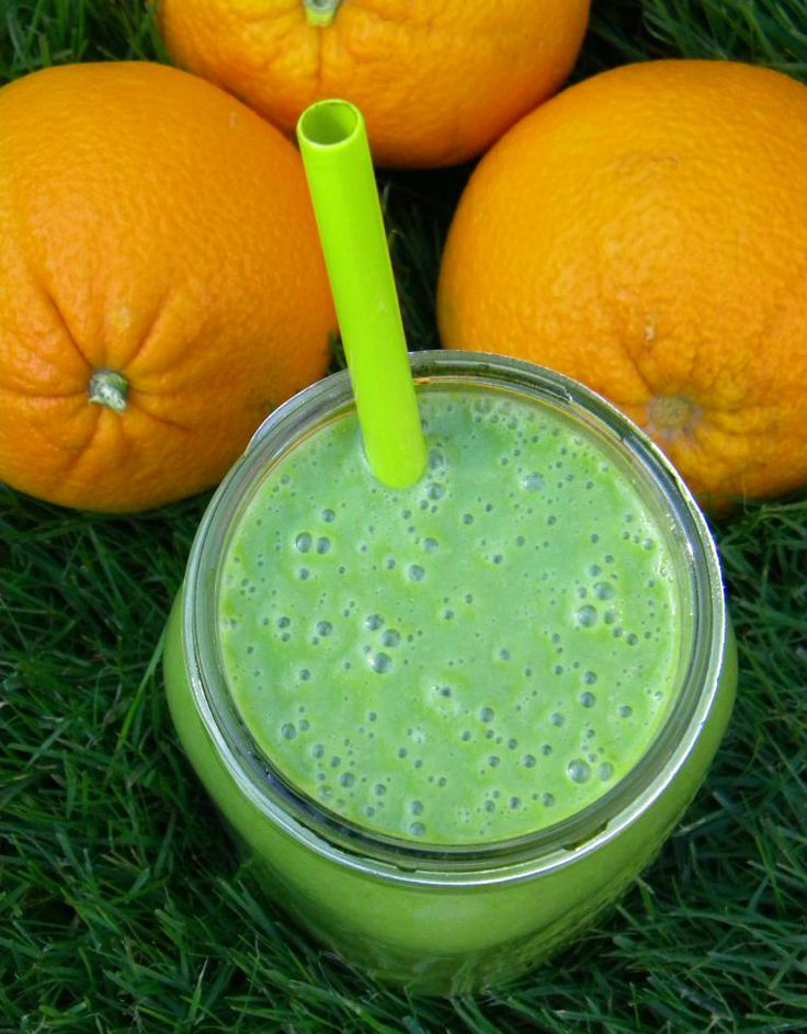 Green Orange Creamsicle Smoothie or an Ode to Orange Julius