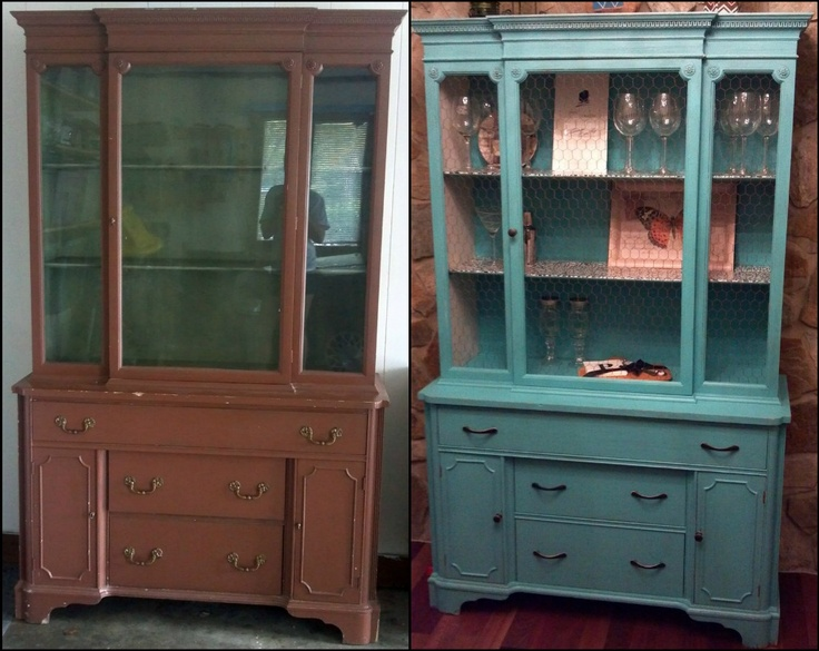 Combest Paint For Home Interior : thrift store eye sore into braggable treasure - refurbished distressed ...