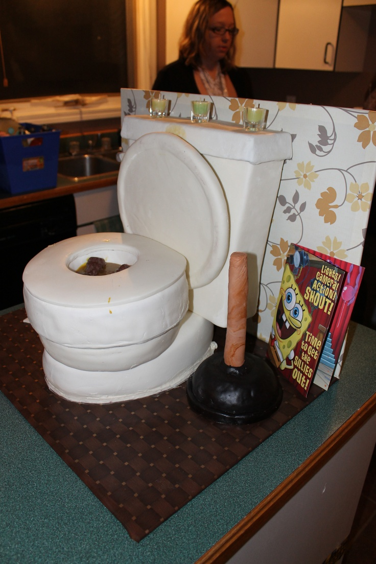 Cake Images Of Toilet : Toilet Cake My Cakes Pinterest