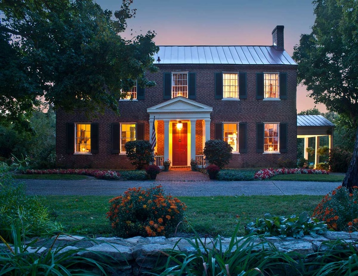 This home, in Louisville, KY, is featured in Tim Tanner's next Early American Country Homes book, due out fall of 2013.