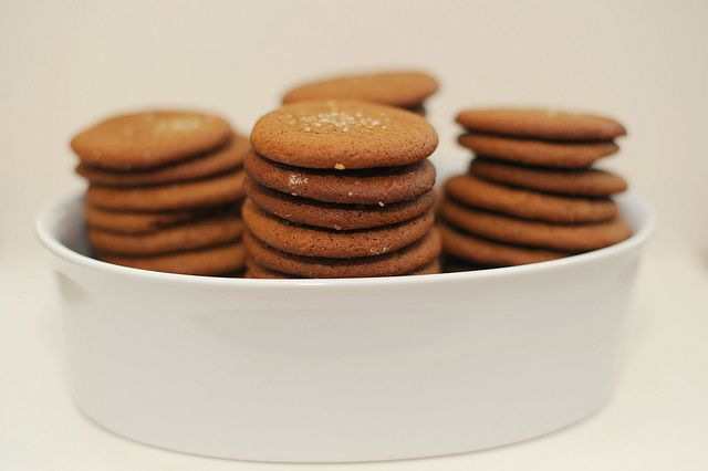 joe froggers - ginger rum molasses cookies by sassyradish, via Flickr