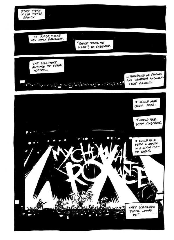 My Chemical Romance Comic