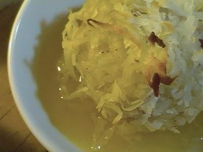 Coconut Rice Pudding Balls | Custard, Caramel, Flan, Mousse, Souffle ...