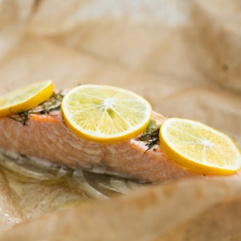 Salmon With Fennel Baked In Parchment | Back On That Diet Again. Heal ...