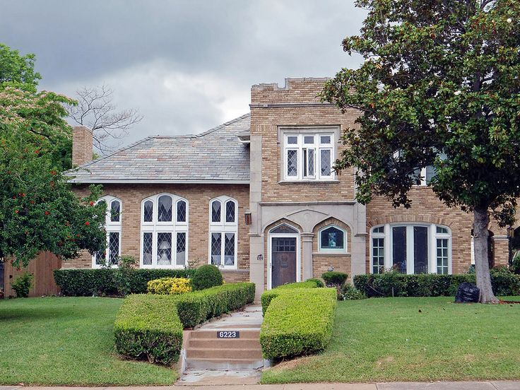 Gothic Revival House East Dallas Nice Things I Lust For Pinterest