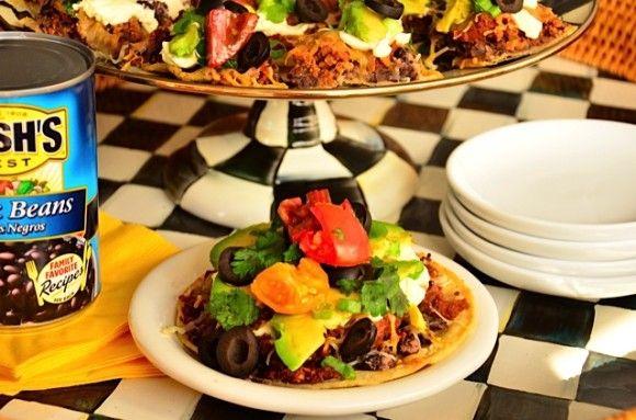 Bush's Black Bean Mexican Pizza | Recipe
