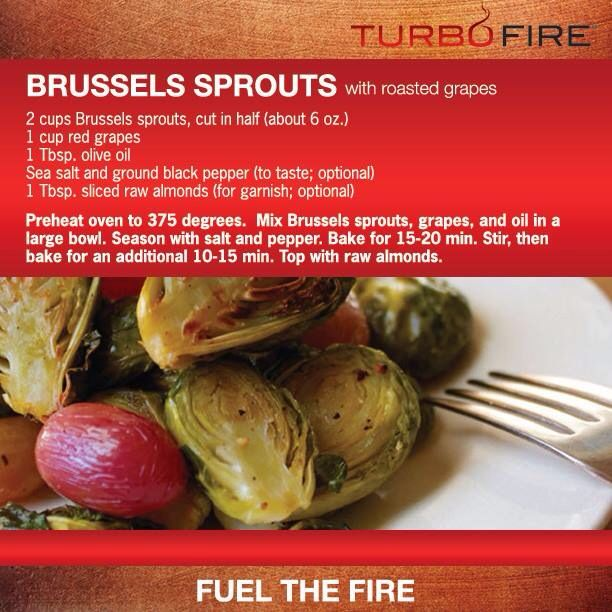 Brussels sprouts with roasted grapes | Eat | Pinterest