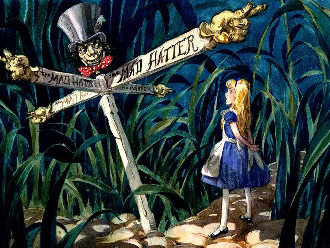 Alice in Wonderland concept art | I'm a Disney Princess ...