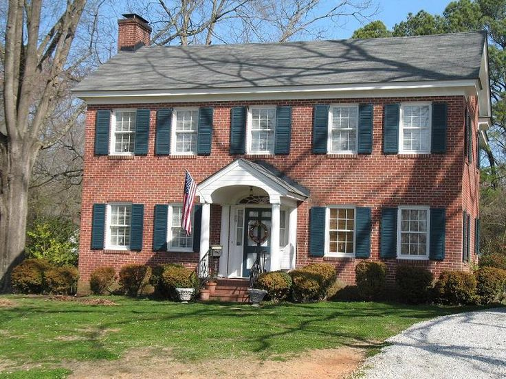 Brick Colonial For The Home Pinterest