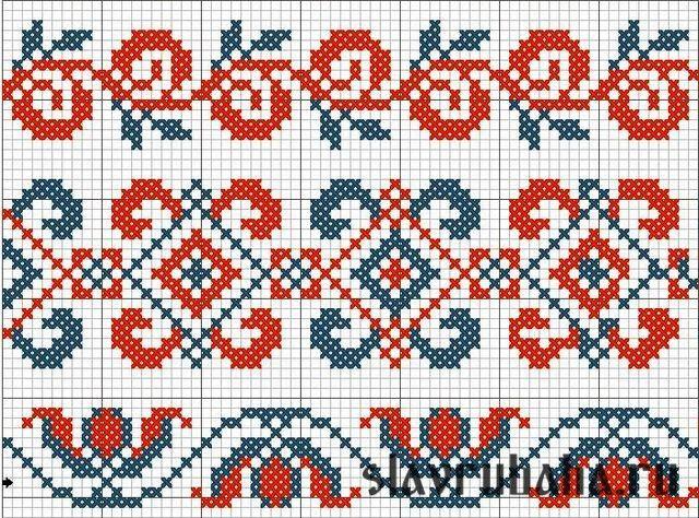 Плетение бисером орнамент