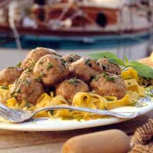 German Meatballs.For an authentic German dinner, ladle these beef-and ...