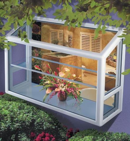 garden window- kitchen  Kitchen Update  Pinterest