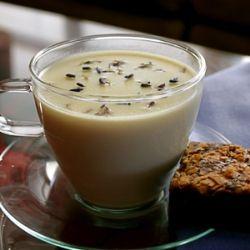 ... chocolate ganache hot chocolate lemongrass lavender white hot