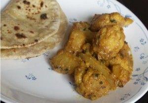 cauliflower& potato in a creamy sauce | Spice as Nice | Pinterest