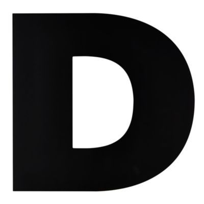 not giant enough letter d With giant letter d