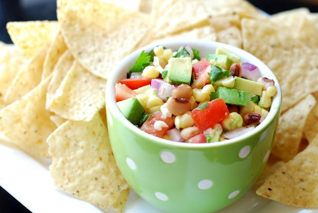 Avocado and Lime Salsa - - we called in Texas Caviar!!!