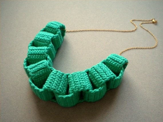 Crochet Stitches Chain : Crochet Chain Necklace Crochet I love You - Inspiration & Patterns ...