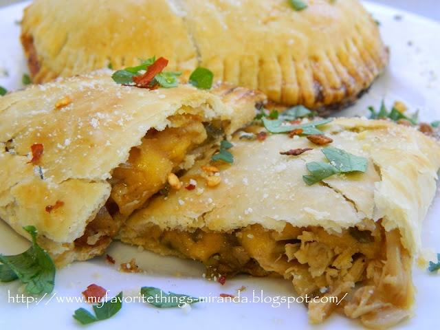 Easy Cheesy BBQ Chicken Empanadas