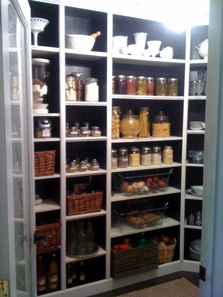 Pantry ikea hack gawwlee pinterest for Kitchen pantry shelving ikea