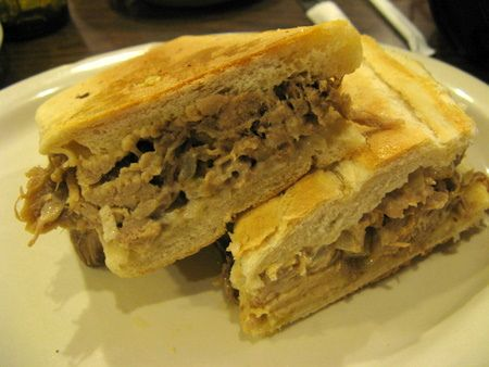 Cuban roast pork sandwich pressed | Po' boys and other great sandwich ...