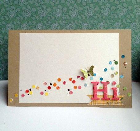 Butterfly Hi Card by @Keren Baker