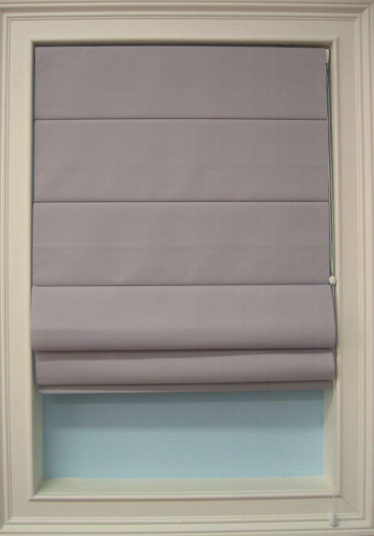 Flat roman shades for narrow window home pinterest for Pictures of roman shades on windows