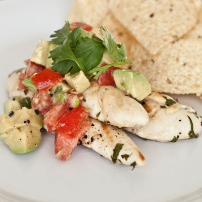 Sweet Treats and More: Cilantro-Lime Chicken with Avocado Salsa