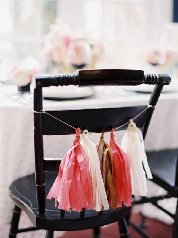 tassles are a fun and different way to add interest and colour to your party.   find more inspiration at www.trixandtrumpet.com