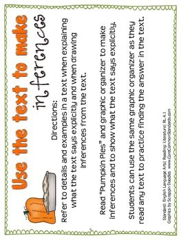 RL.4.1 Fourth Grade Common Core Worksheets, Activity, and Poster