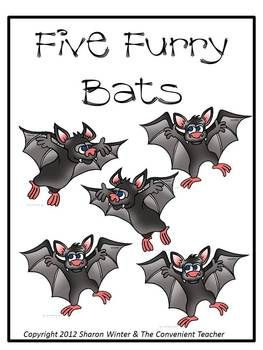 FREE – Five Furry Bats: A Counting Game for Little Learners