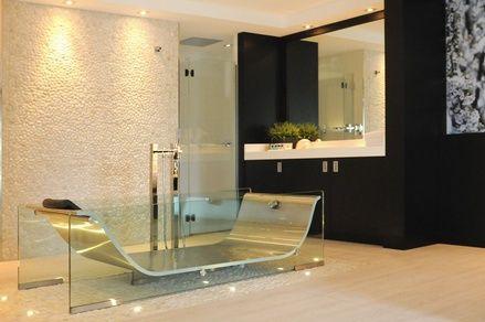 Glazen bad in van der valk hotel badkamers pinterest - Glazen kamer bad ...