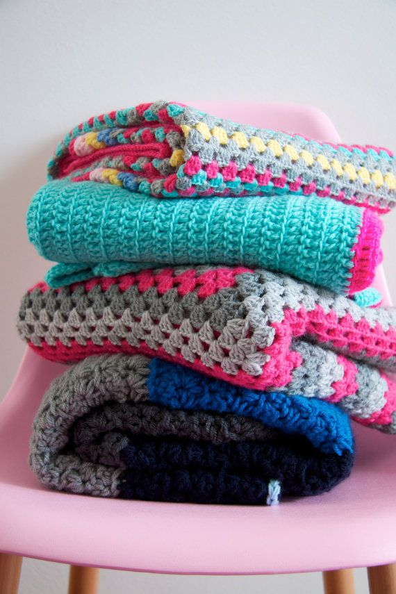 Custom made crochet blankets by PieceOfaCookie on Etsy, €1.00