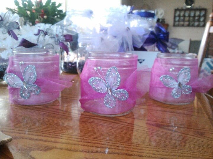 Butterfly centerpieces party planning pinterest