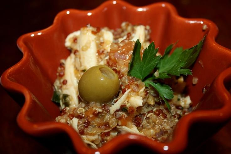 Mediterranean chicken and quinoa | Winning Wednesday | Pinterest