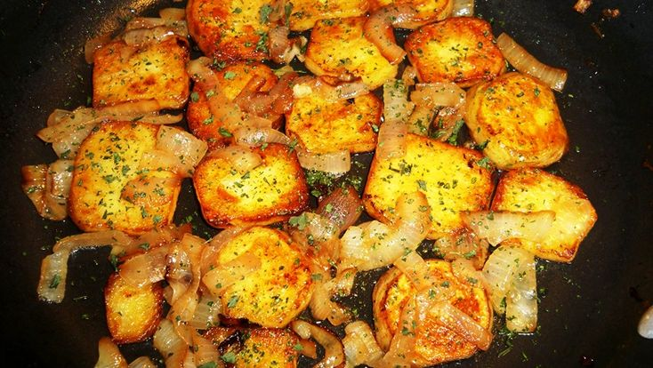 Potatoes Lyonnaise | Vegetables | Pinterest