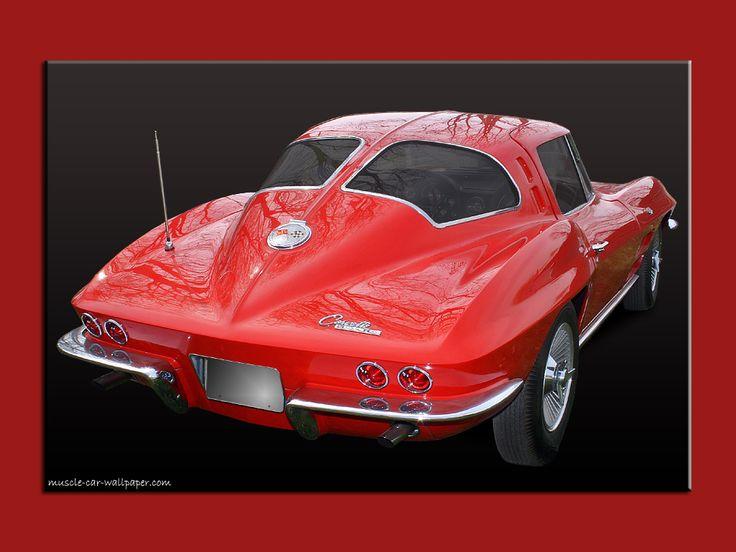 pin corvette wallpaper 1963 - photo #21