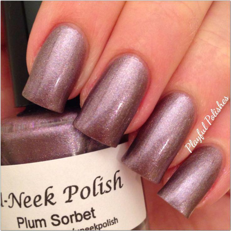 Plum Sorbet by U-Neek Polish | Makeup!!!!! | Pinterest