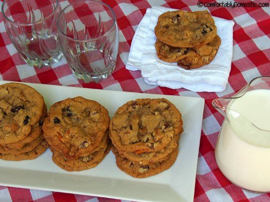 Everything But the Kitchen Sink Cookies | ComfortablyDomestic.com are ...