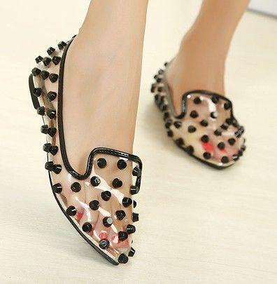 transparent shoes