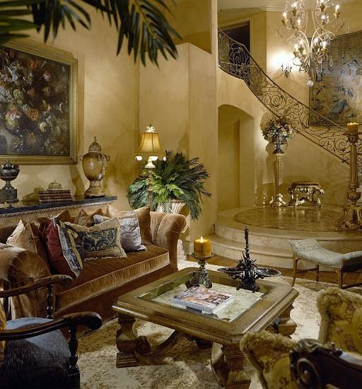 Tuscan Living Room Design Lyn 2 Pinterest