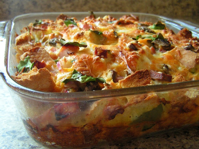 ... egg strata overnight bake recipe yummly strata recipe ham cheese ham