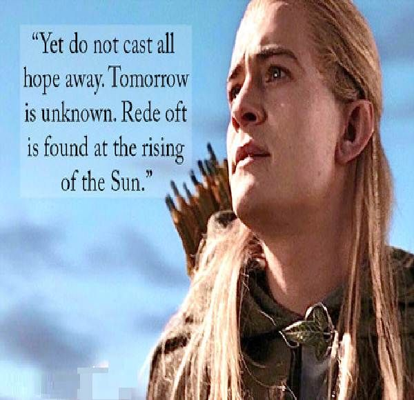 Lord Of The Rings Movie Quotes LINE!!! Pinterest