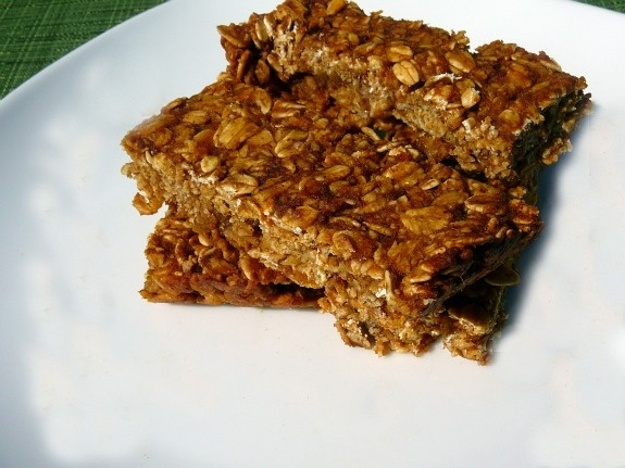 Pumpkin Granola Bars. just made a batch with slightly less sugar in ...