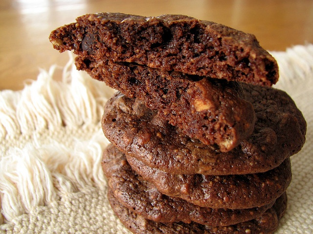 Chocolate Hazelnut Espresso Cookies. Recipe: http://freebiegate.com ...