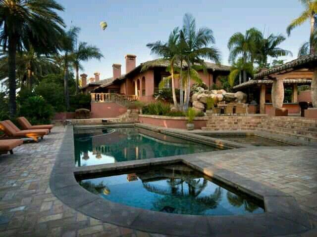 Beautiful Home Pool Elegant Homes Pinterest