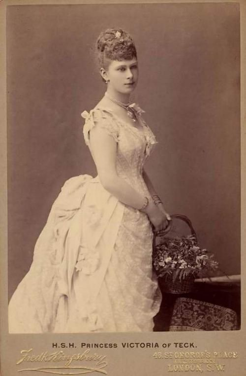 Princess Victoria Mary Of Teck Portraits Of Royalty
