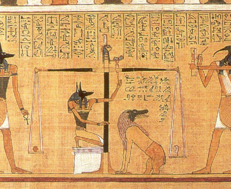 book of the dead 10 commandments