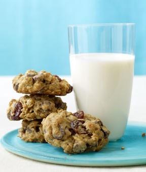 Chocolate-cherry oatmeal cookies | Fun Recipe | Pinterest